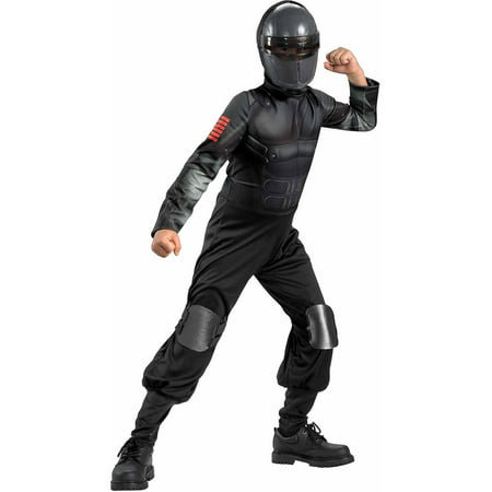 Snake Eyes Muscle Child Halloween Costume](Eye Missing Halloween)