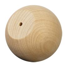 "WoodWorks 100 Pcs Wood Ball Knob / Doll Heads 2-3/4"" wide..."