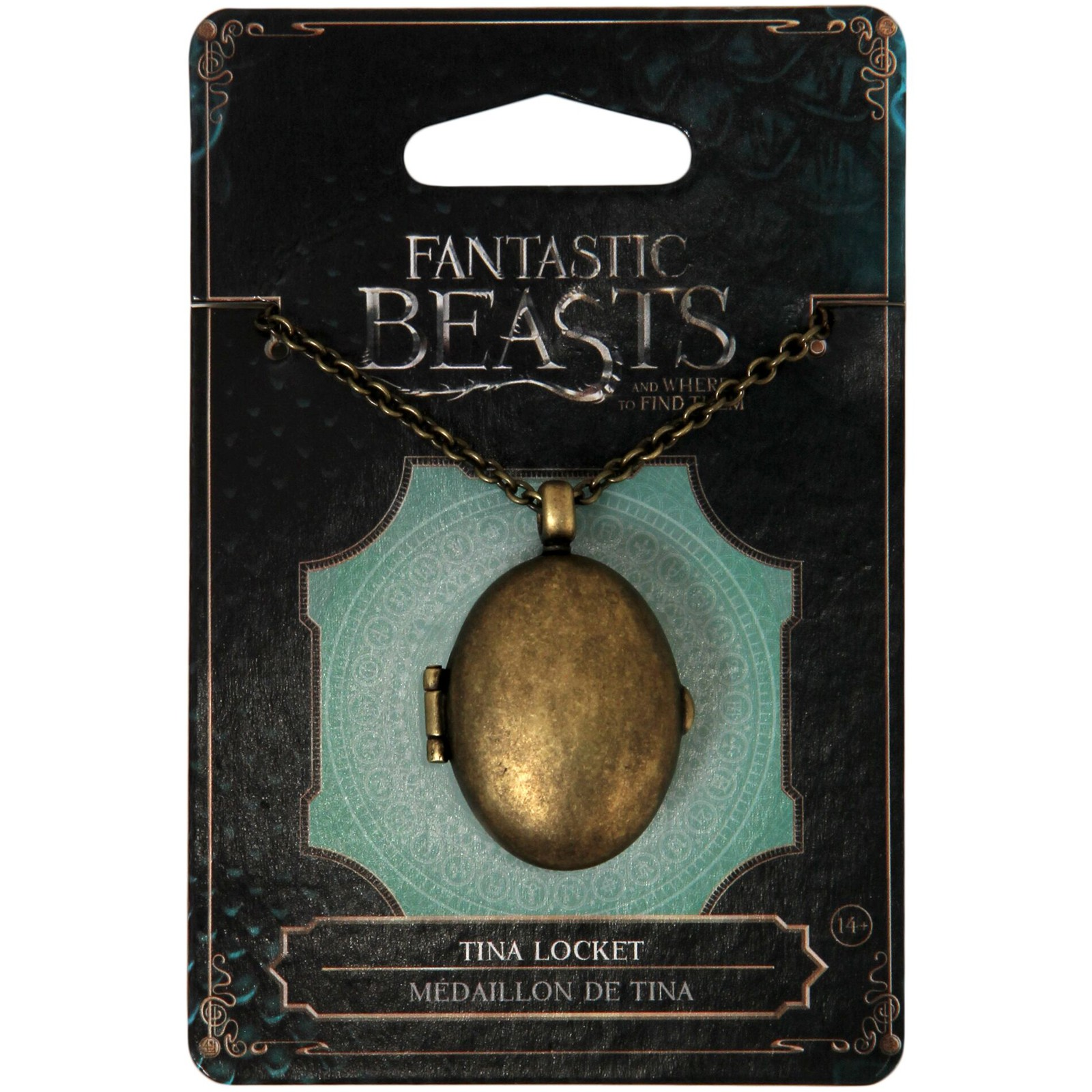 Fantastic Beasts and Where to Find Them Tina Locket Necklace