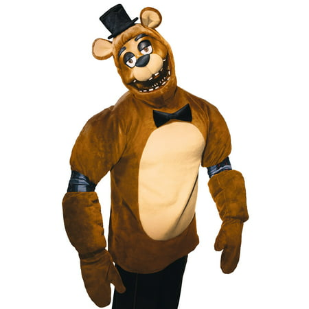 FNAF PLUSH FREDDY COSTUME - Kids Freddy Kruger Costume