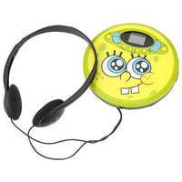 spongebob squarepants 37062 personal cd player (yellow)