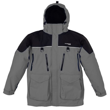 NEW Clam Outdoors IceArmor Edge Cold Weather 300 D Parka  - Charcoal/Black