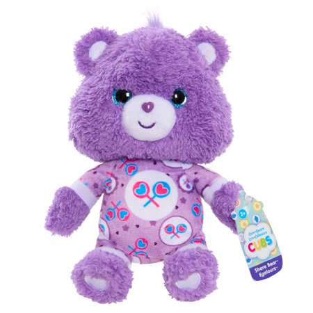 Jointed Mohair Bear (Care Bear Cubs Bean Plush - Share Bear)