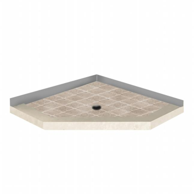 American Bath N424204SO-RC Neo 42 x 42 in. Right Angle So...