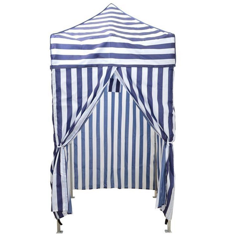 CALHOME Portable Cabana Stripe Tent Privacy Changing Room Pool Camping Outdoor Canopy