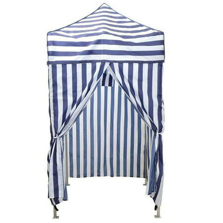 CALHOME Portable Cabana Stripe Tent Privacy Changing Room Pool Camping Outdoor Canopy ()