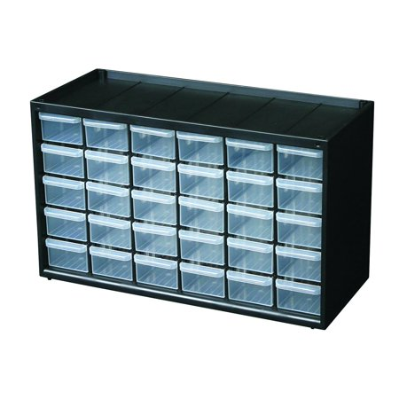 6576NC Hardware and Craft Parts Cabinet Storage Drawer, 30 Drawers, small 25 Organizer Ideal for tools Photos Utility Parts and supplies by.., By Flambeau Ship from US (Parts Cabinet)