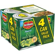 Del Monte Fresh Cut Blue Lake Cut Green Beans, 14.5 oz, 4 ct