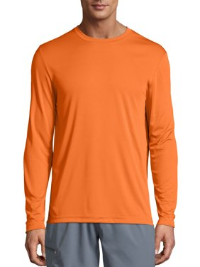 Hanes Men's Cool Dri Performance Long Sleeve T-shirt (50+ UPF), up to size 3XL
