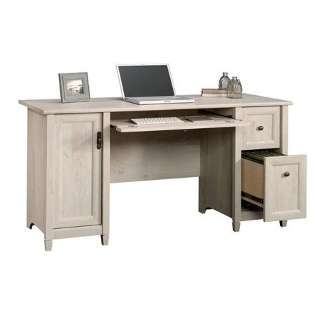 Scranton & Co Computer Desk in Chalked Chestnut - image 2 de 13