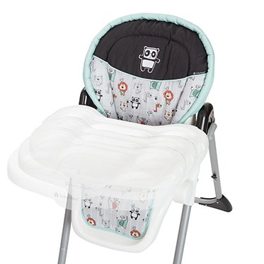 Baby Trend Sit Right Adjustable High Chair Paisley Walmartcom