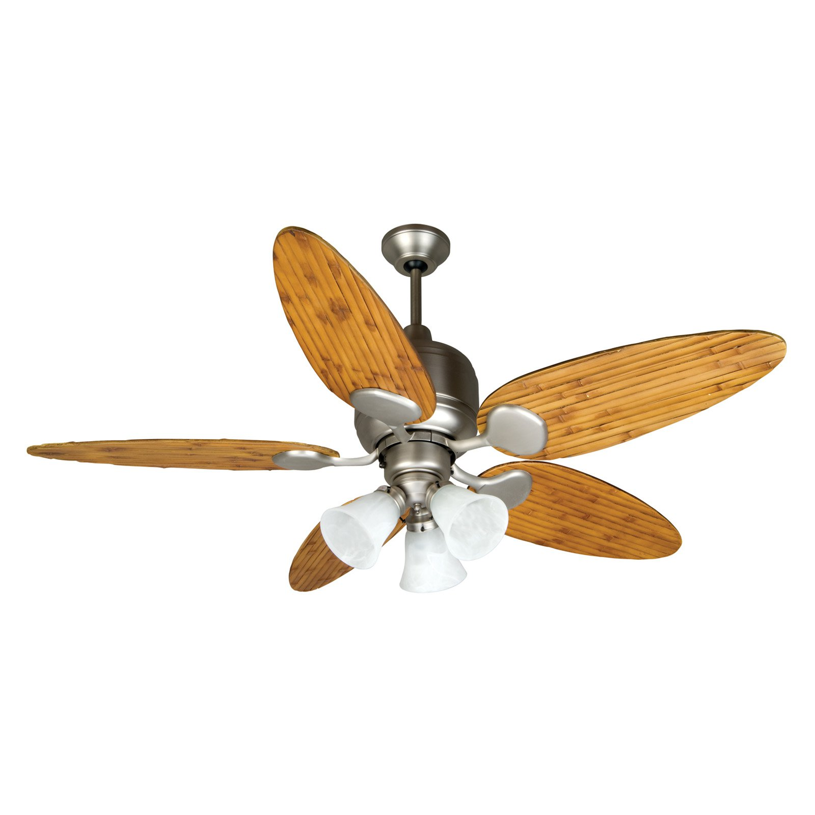 Craftmade Kona Bay 52 in. Indoor/Outdoor Ceiling Fan with Oval Blades