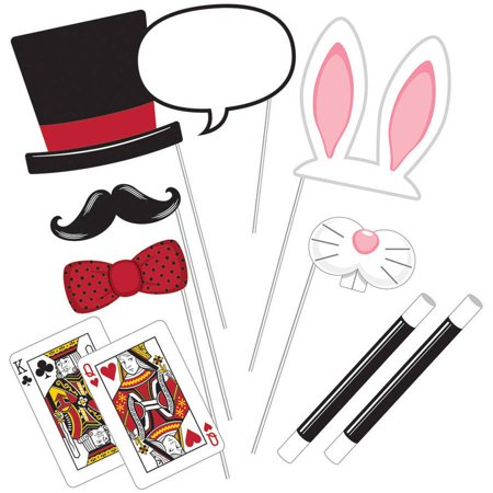 Magic Party Photo Props, Pkg/10