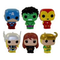 Funko Holiday Marvel Advent Calendar 2019 Figures - SET OF 6 (Thor Hulk Iron Man Black Widow +2)