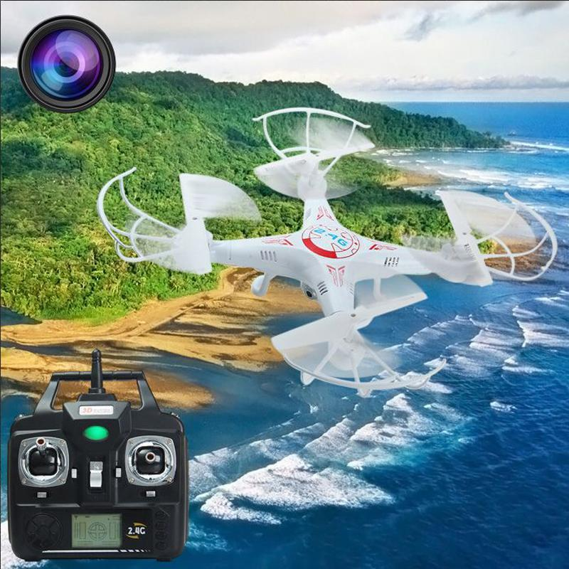 2.4Ghz Aerial 6-Axis Gyro RC Quadcopter Drone UAV RTF with 2MP HD