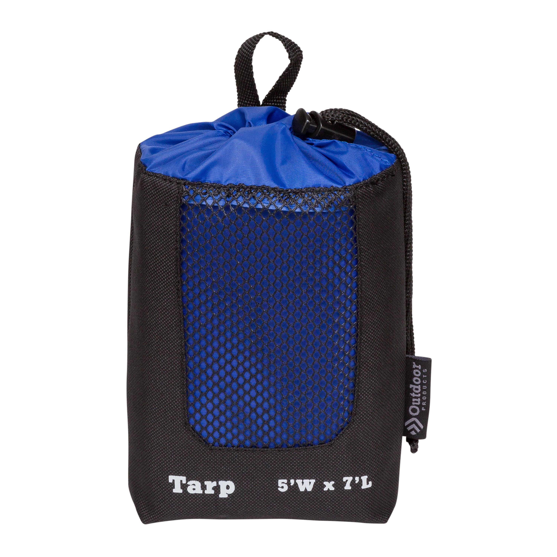 Outdoor Products Nylon Backpackers Tarp, 5' x 7', Blue - Walmart.com -  Walmart.com
