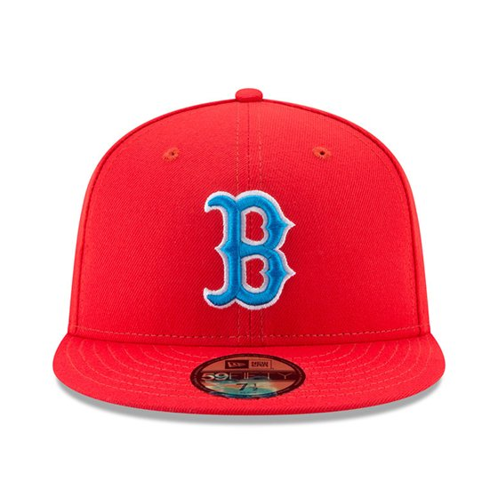 d00eae97f05 Boston Red Sox New Era 2017 Players Weekend 59FIFTY Fitted Hat - Red -  Walmart.com
