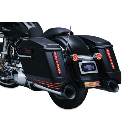 Kuryakyn Saddlebag Extensions Gloss Black   7293