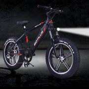 "20"" Electric Snow Mountain Bicycle w/ Removable Lithium Battery SP35523"