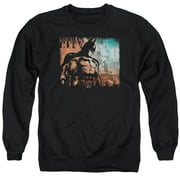 Arkham City City Knockout Mens Crewneck Sweatshirt