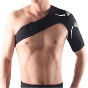 Adjustable Elastic Shoulder Support Brace Basketball Arm Sleeve Men Safety Sports Injury Guard Posture Corrector Back Protector