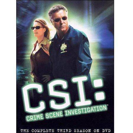 Csi  Crime Scene Investigation   The Complete Third Season  Widescreen