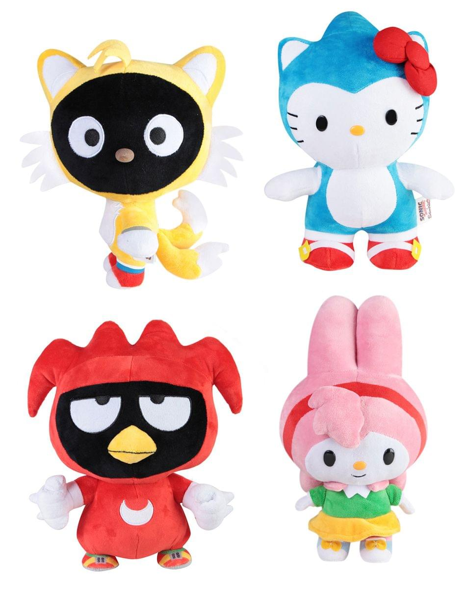 "Sonic x Sanrio 10/"" Plush Amy x My Melody"