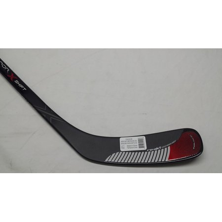 Bauer Vapor X Shift Composite Hockey Stick Junior 50-SDC, Left Hand (All Black Hockey Stick)