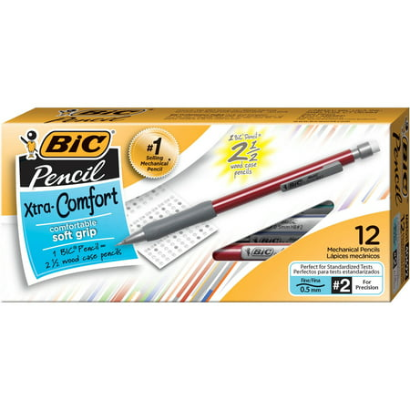 BIC Matic Grip HB #2 0.5mm Mechanical Pencil with Assorted Barrels - 24ct