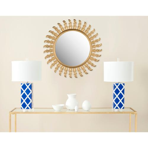 Safavieh Inca Sunburst Gold Mirror