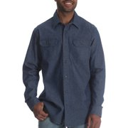 65e2dee51c Wrangler - Wrangler Tall Men s Long Sleeve Stretch Denim Shirt ...