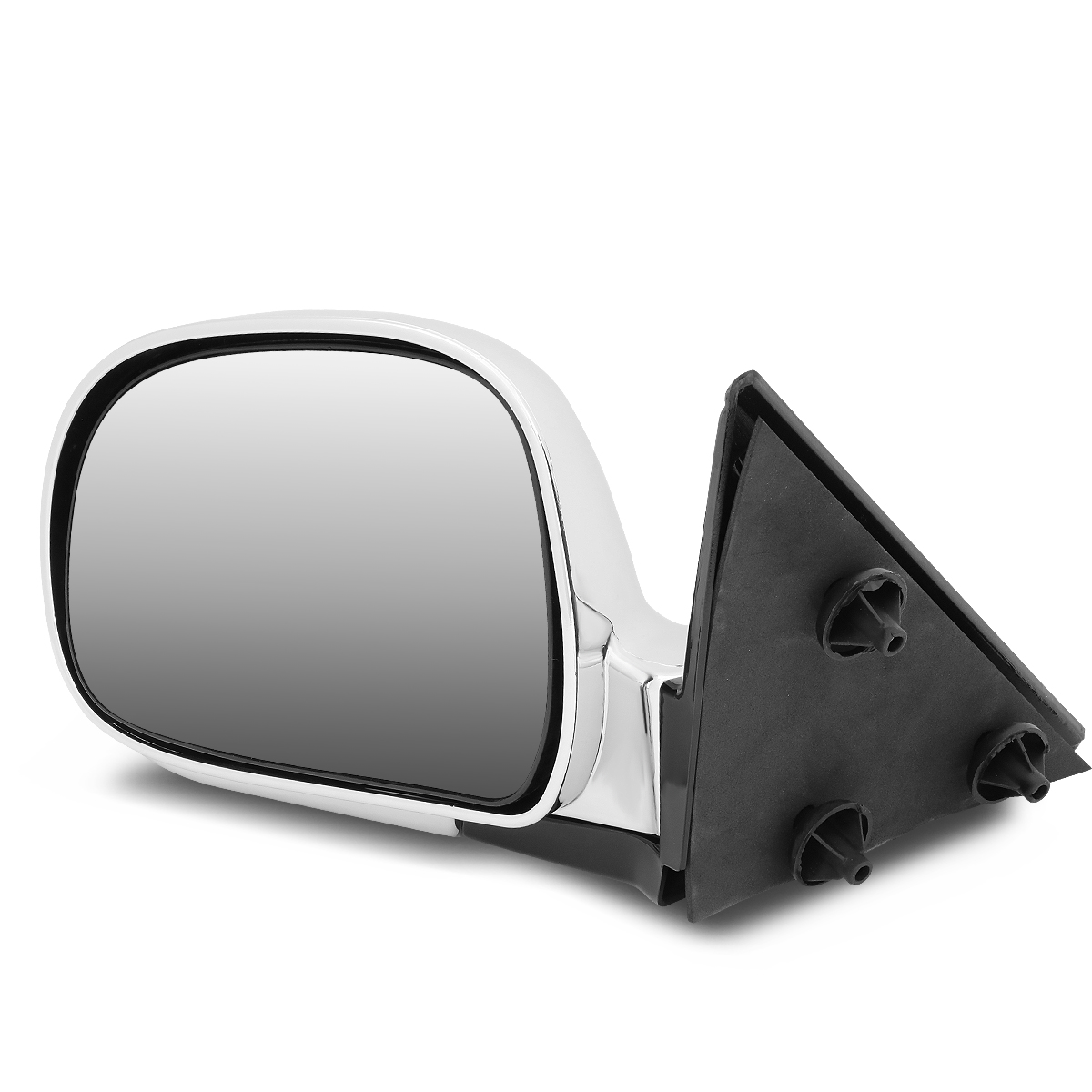 1994 1995 1996 1997 1998 Driver Side Mirror for Chevy S10 Blazer GMC Sonoma Jimmy Isuzu Hombre Oldsmobile Bravada Smooth Black Non-Heated Folding Left Rear View Replacement Door Mirror GM1320126