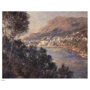 Pivot Publishing - A PPA195900 Monte Carlo Vue De Cap Martin Poster Print by Claude Monet - 10 x 8