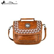MW340-8102 Montana West Concho Collection Top Handle Crossbody
