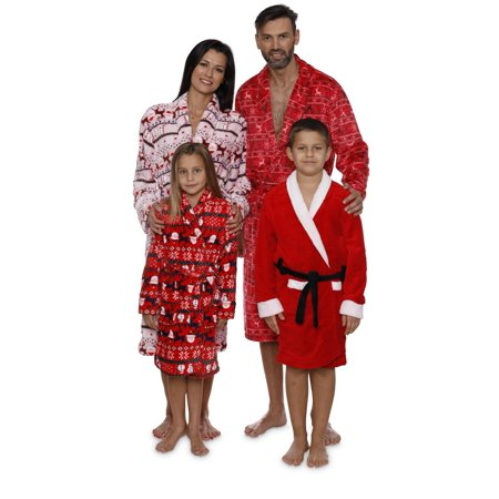 Intimo Women's Reindeer Holiday Robe - image 6 de 6