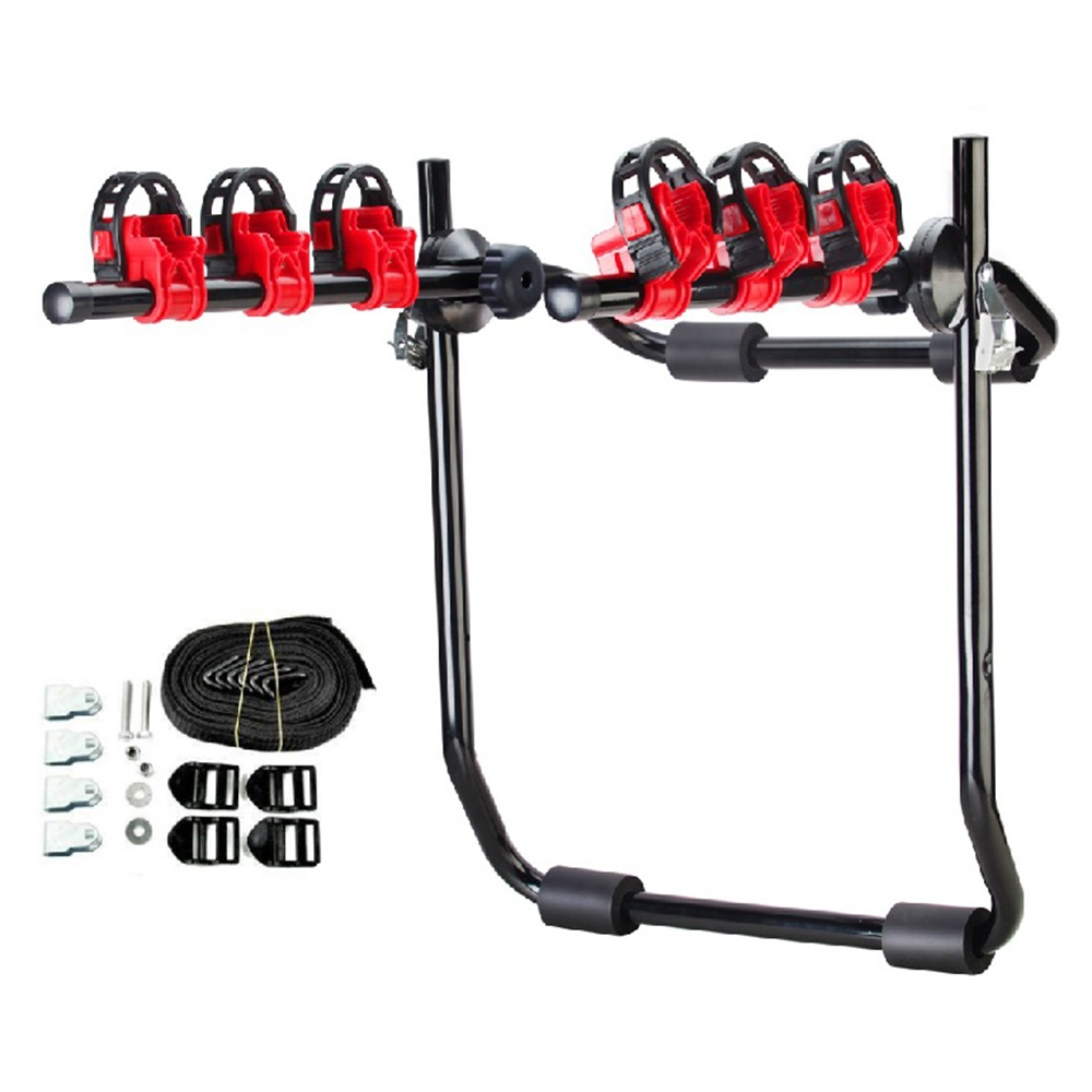 Details about  /Bike Bicycle Cycle Rack Rear Trunk Mount Hitch Carrier For Car SUV