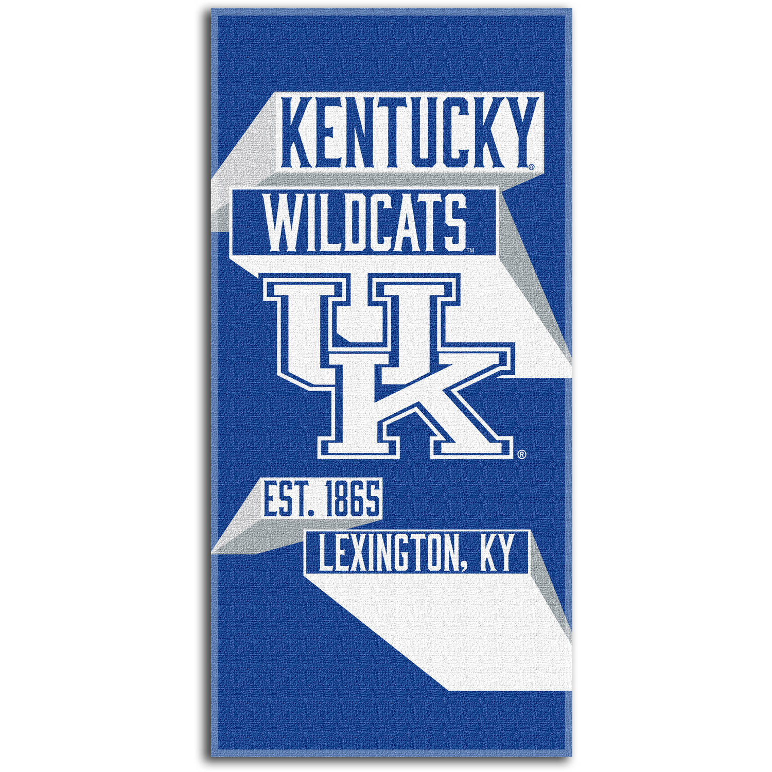 "NCAA ""Head Strong"" 30"" x 60"" Beach Towel, Kentucky Wildcats"