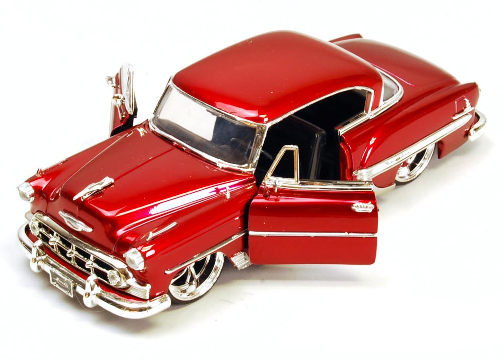 1953 Chevy Bel Air, Red Jada Toys Bigtime Kustoms 50237 1 24 scale Diecast Model Toy Car... by Jada