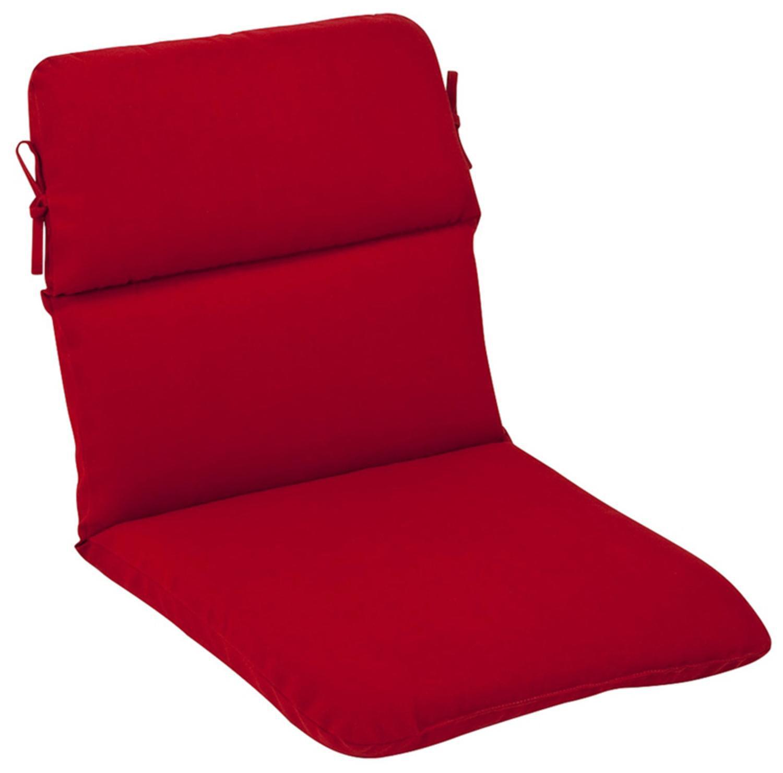 Outdoor Patio Furniture High Back Chair Cushion Venetian