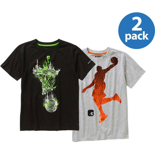 And1 Boys Activewear Top Your Choice 2 Pack Value Bundle