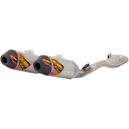 FMF Factory 4.1 RCT Exhaust System w/Mega Bomb Header   Slash Cut - Aluminum - Stainless 41541