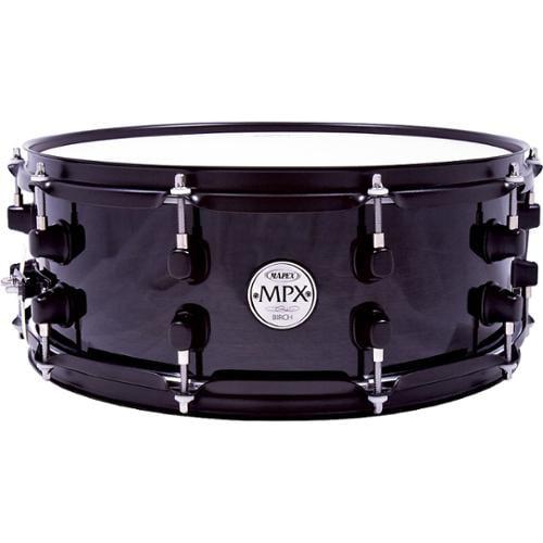 Mapex MPX Birch Snare Drum 14 in. x 5.5 in. Black