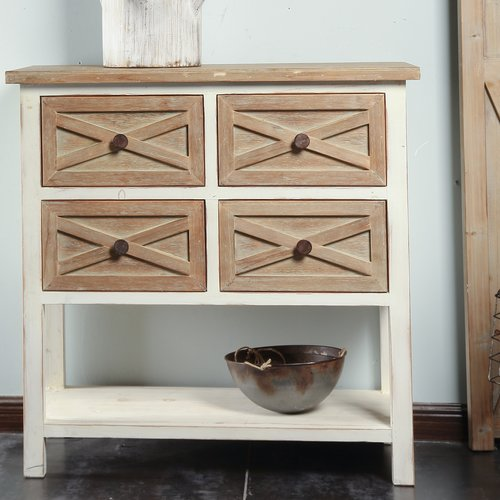 August Grove Shery 4 Drawer Accent Cabinet
