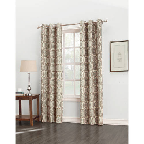 Sun Zero Cordoba Folklore Thermal Insulated Energy Efficient Grommet Curtain Panel by S. Lichtenberg & Co.