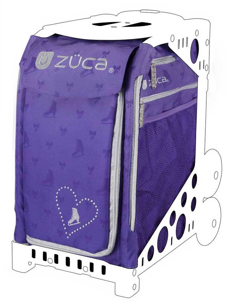 Zuca Skates and Bows Ice Dreamz Sport Insert Bag (Frames Sold Separately) by ZUCA