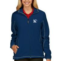 Memphis Tigers Antigua Women's Ice Full-Zip Jacket - Royal