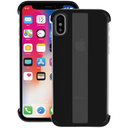 quality design 853fa 68c38 Skech SK41-STK-BLK Stark Case For iPhone X (Black) - Walmart.com