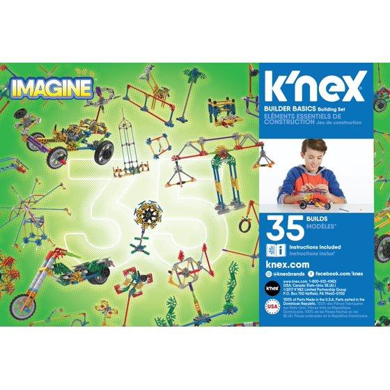 Knex Imagine Builder Basics Building Set Walmart