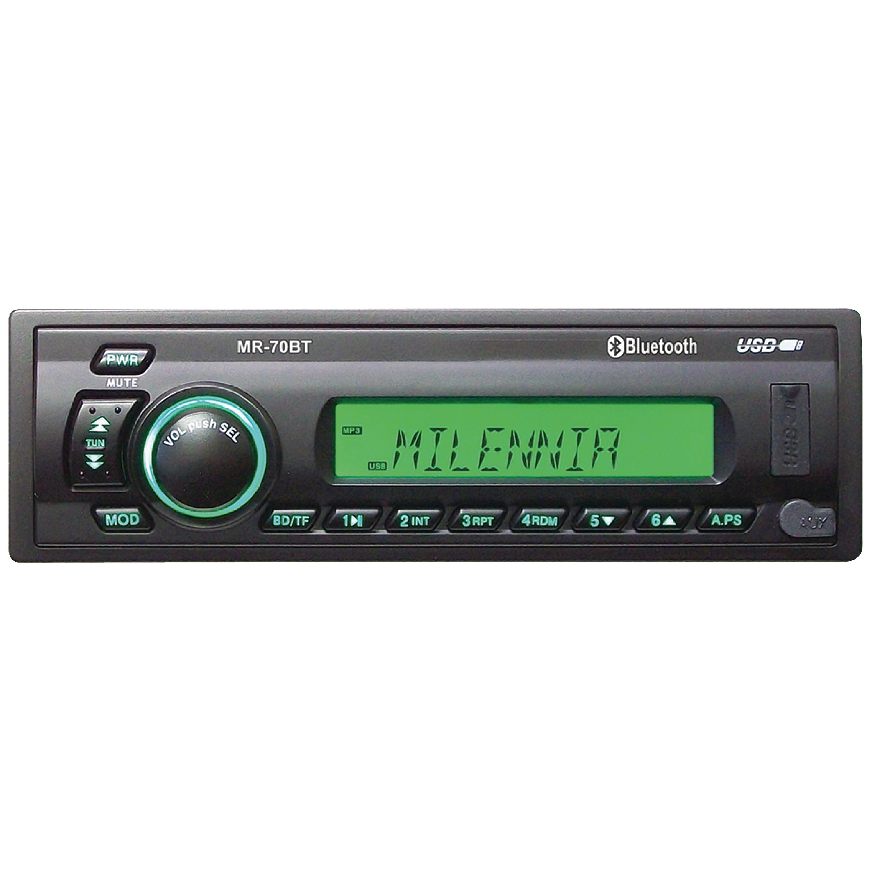 Milenia MIL-MR70BT Milennia MR70BT AM/FM/USB/ Bluetooth Stereo