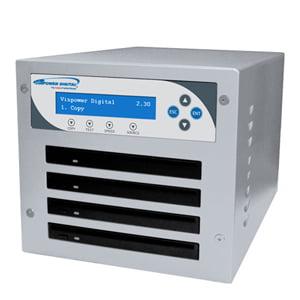 1:4 SLIM MICRO COMPACT BLU-RAY CD DVD DISC NETWORK DUPLICATOR USB